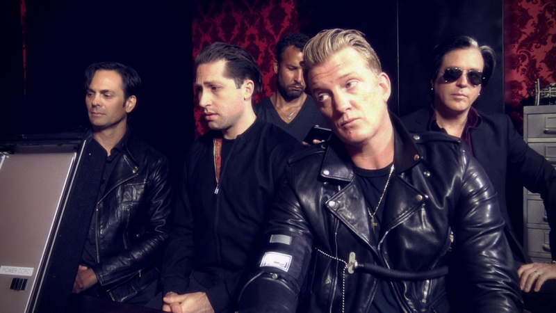 Skupina Queens of the Stone Age.