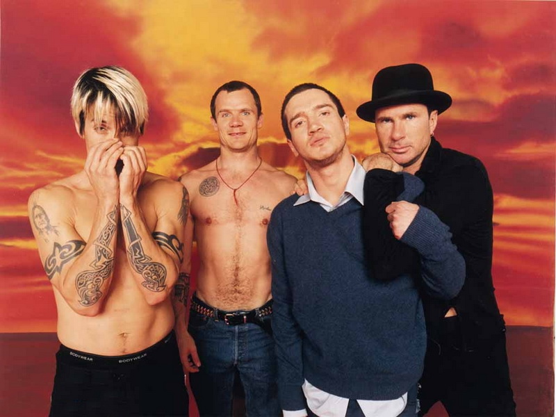 RHCP so se z albumom 'By The Way' nekoliko umirili.