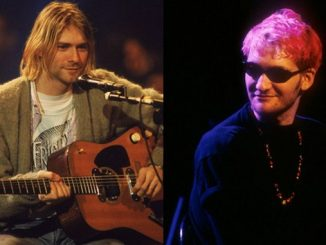 Kurt Cobain (levo) in Layne Staley (desno).