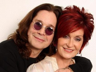 Ozzy in Sharon Osbourne