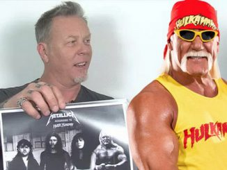 James Hetfield in Hulk Hogan (FOTO: Alternative Nation)
