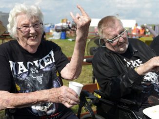 Wacken Open Air privablja različne generacije. (FOTO: Metalhead Zone)