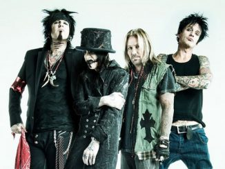 Skupina Mötley Crüe (FOTO: The Riff Repeater)