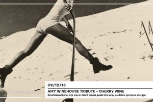 Decembrrr: Ami Winehouse Tribute by Cherry Wine @ Čin Čin Tobačna | Ljubljana | Slovenija