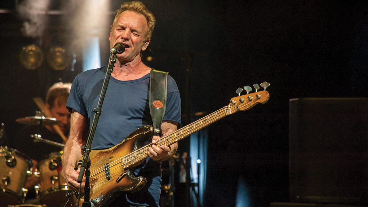Sting (FOTO: Bass player)