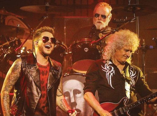 Queen in Adam Lambert
