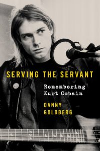 Naslovnica knjige 'Serving The Servant: Remembering Kurt Cobain'.