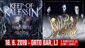 Keep of Kalessin, Nytt Land, Shade Empire, Malphas @ Orto Bar | Ljubljana | Slovenija
