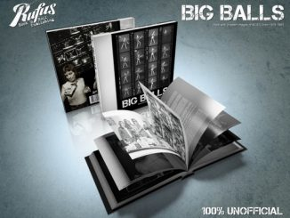 Knjiga 'Big Balls - Rare And Unseen AC/DC Images From 1976-1981'.