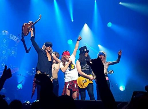 Skupina The Guns N' Roses Experience (FOTO: The Guns N' Roses Experience)