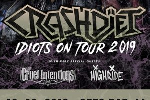 Crashdïet (Swe), The Cruel Intentions (Swe/Nor), Highride (Swe) @ Orto bar | Ljubljana | Slovenija