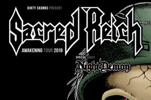 Sacred Reich (USA), Night Demon (USA) @ Orto bar | Ljubljana | Slovenija