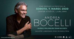 Andrea Bocelli - Center Stožice
