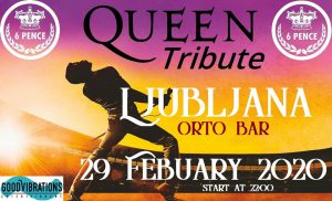 6 Pence - Queen Tribute @ Orto bar | Ljubljana | Slovenija