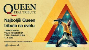 QUEEN Real tribute - Veliki koncert v Loškem pubu