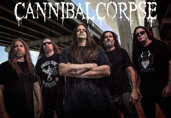 Skupina Cannibal Corpse (FOTO: Metal Blade Records)