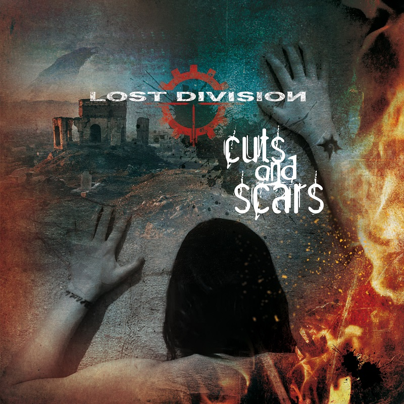 Lost Division - Cuts And Scars - naslovnica